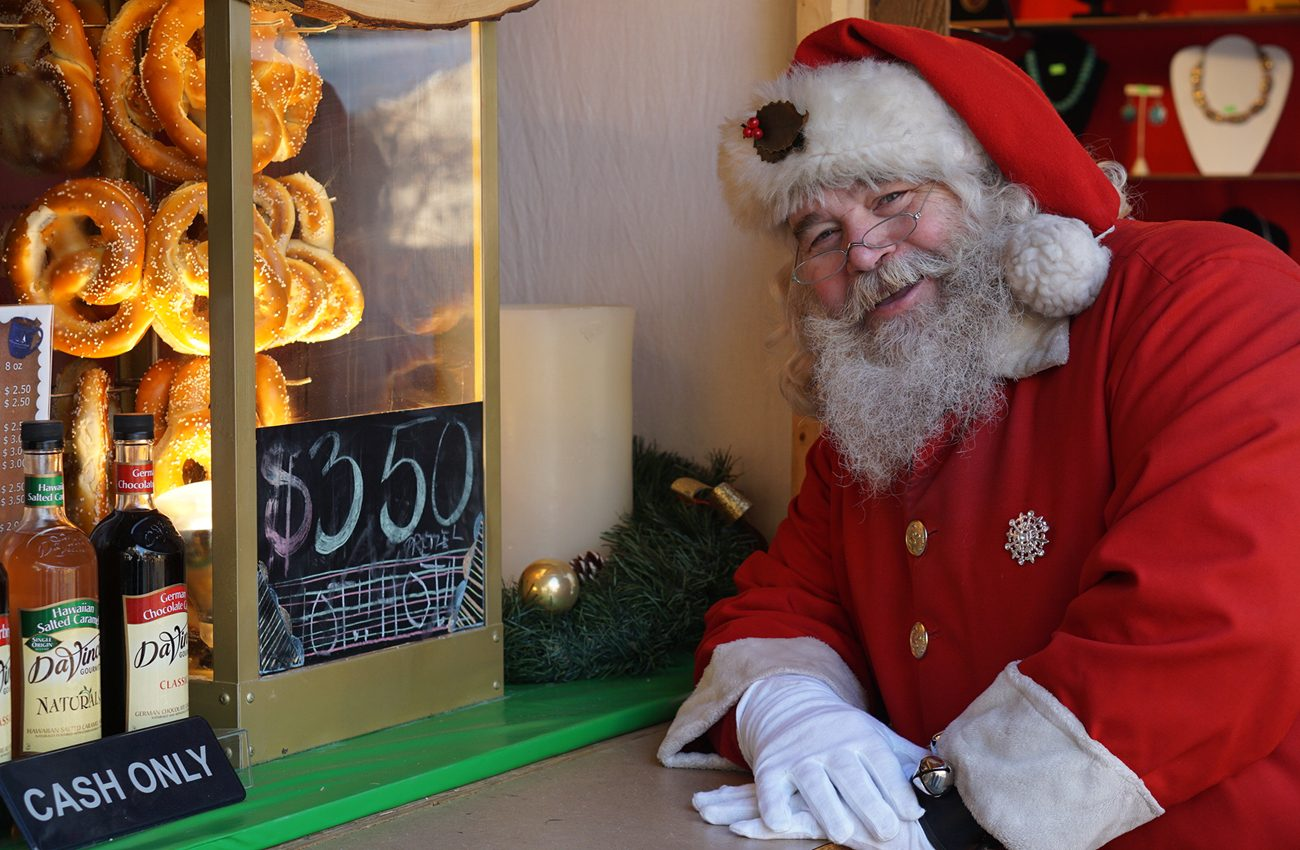 where to find santa in philly 2018